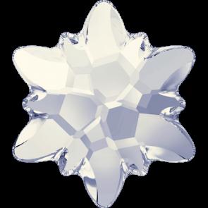 Cristale Swarovski cu spate plat si lipire la cald 2753 White Opal M HF (234) 10 mm
