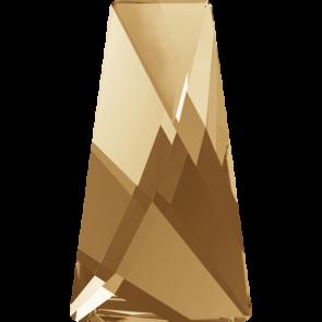 Cristale Swarovski cu spate plat si lipire la cald 2770 Crystal Golden Shadow M HF (001 GSHA) 6 x 3,5 mm