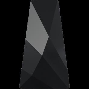 Cristale Swarovski cu spate plat si lipire la cald 2770 Jet M HF (280) 12 x 7 mm