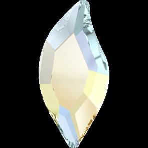 Cristale Swarovski cu spate plat No Hotfix 2797 Crystal AB F (001 AB) 10 x 5 mm