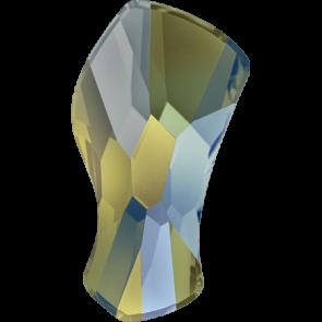 Cristale Swarovski cu spate plat si lipire la cald 2798 Crystal Iridescent Green M HF (001 IRIG) 10 mm