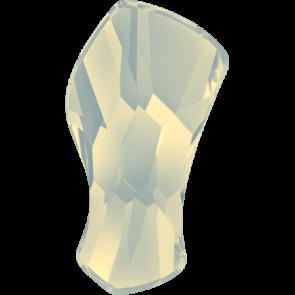 Cristale Swarovski cu spate plat si lipire la cald 2798 White Opal M HF (234) 10 mm