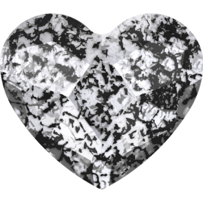 Cristale Swarovski cu spate plat No Hotfix 2808 Crystal Black Patina F (001 BLAPA) 10 mm