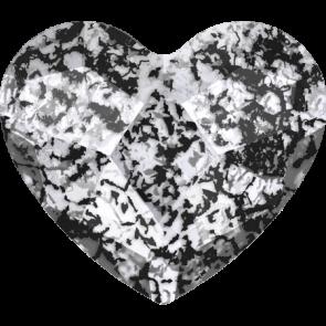 Cristale Swarovski cu spate plat si lipire la cald 2808 Crystal Black Patina M HF (001 BLAPA) 6 mm