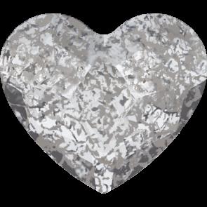 Cristale Swarovski cu spate plat No Hotfix 2808 Crystal Silver Patina F (001 SILPA) 10 mm