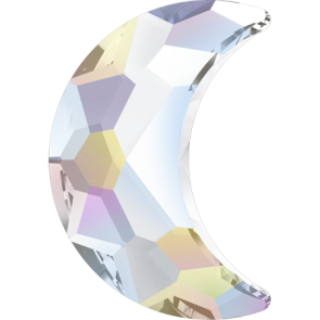 Cristale Swarovski cu spate plat si lipire la cald 2813 Crystal AB M HF (001 AB) 10 x 7 mm