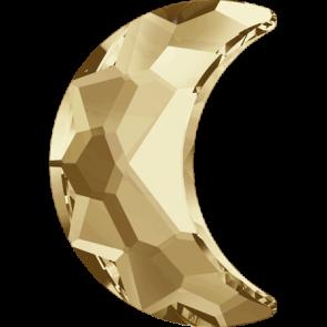 Cristale Swarovski cu spate plat si lipire la cald 2813 Crystal Golden Shadow M HF (001 GSHA) 10 x 7 mm