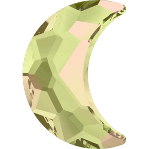Cristale Swarovski cu spate plat si lipire la cald 2813 Crystal Luminous Green M HF (001 LUMG) 8 x 5,5 mm
