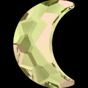 Cristale Swarovski cu spate plat si lipire la cald 2813 Crystal Luminous Green M HF (001 LUMG) 10 x 7 mm