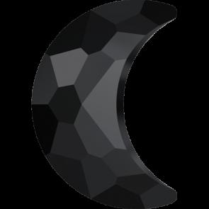 Cristale Swarovski cu spate plat si lipire la cald 2813 Jet M HF (280) 10 x 7 mm