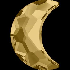 Cristale Swarovski cu spate plat si lipire la cald 2813 Light Colorado Topaz M HF (246) 10 x 7 mm