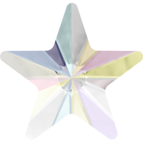 Cristale Swarovski cu spate plat No Hotfix 2816 Crystal AB F (001 AB) 5 mm