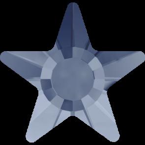 Cristale Swarovski cu spate plat si lipire la cald 2817 Denim Blue M HF (266) 5 mm