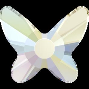 Cristale Swarovski cu spate plat si lipire la cald 2855 Crystal AB M HF (001 AB) 8 mm
