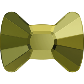 Cristale Swarovski cu spate plat No Hotfix 2858 Crystal Iridescent Green F (001 IRIG) 6 x 4,5 mm