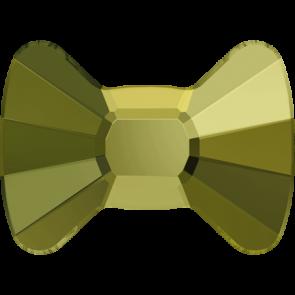 Cristale Swarovski cu spate plat No Hotfix 2858 Crystal Iridescent Green F (001 IRIG) 9 x 6,5 mm