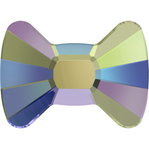 Cristale Swarovski cu spate plat No Hotfix 2858 Crystal Paradise Shine F (001 PARSH) 6 x 4,5 mm