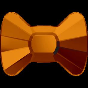 Cristale Swarovski cu spate plat si lipire la cald 2858 Tangerine M HF (259) 9 x 6,5 mm