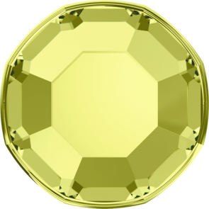 Cristale Swarovski cu spate plat No Hotfix 2000 Jonquil F (213) SS 3 - de lipit