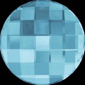 Cristale Swarovski cu spate plat No Hotfix 2035 Aquamarine F (202) 14 mm
