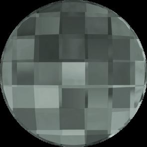 Cristale Swarovski cu spate plat No Hotfix 2035 Black Diamond F (215) 20 mm