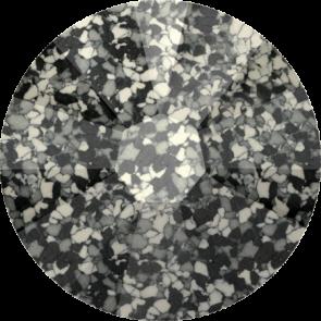 Cristale Swarovski cu spate plat No Hotfix 2058-B Marbled Black (653) SS 16