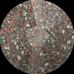 Cristale Swarovski cu spate plat No Hotfix 2058-B Marbled Terracotta (655) SS 9