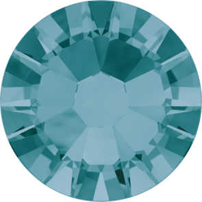 Cristale Swarovski cu spate plat No Hotfix 2058 Blue Zircon F (229) SS 5