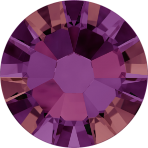 Cristale Swarovski cu spate plat No Hotfix 2058 Crystal Volcano F (001 VOL) SS 5 - de lipit