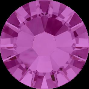 Cristale Swarovski cu spate plat No Hotfix 2058 Fuchsia F (502) SS 6 - de lipit
