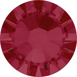 Cristale Swarovski cu spate plat No Hotfix 2058 Ruby F (501) SS 10