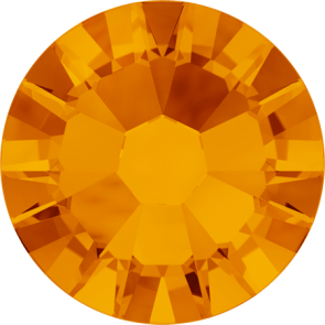 Cristale Swarovski cu spate plat No Hotfix 2058 Tangerine F (259) SS 5