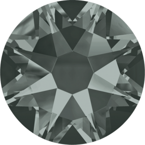 Cristale Swarovski cu spate plat No Hotfix 2088 Black Diamond F (215) SS 12