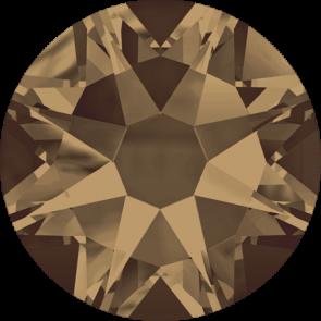 Cristale Swarovski cu spate plat No Hotfix 2088 Crystal Bronze Shade F (001 BRSH) SS 12