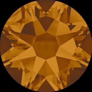 Cristale Swarovski cu spate plat No Hotfix 2088 Crystal Copper F (001 COP) SS 12