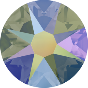 Cristale Swarovski cu spate plat No Hotfix 2088 Crystal Paradise Shine F (001 PARSH) SS 12