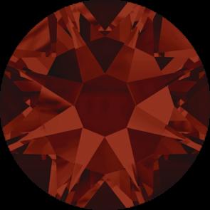 Cristale Swarovski cu spate plat No Hotfix 2088 Crystal Red Magma F (001 REDM) SS 12