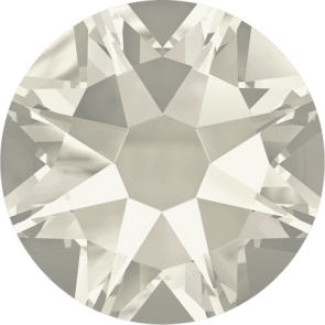 Cristale Swarovski cu spate plat No Hotfix 2088 Crystal Silver Shade F (001 SSHA) SS 34 - de lipit