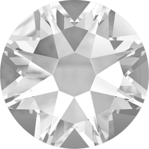 Cristale Swarovski cu spate plat No Hotfix 2088 Crystal F (001) SS 12