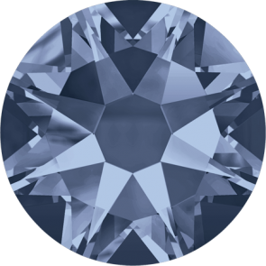 Cristale Swarovski cu spate plat No Hotfix 2088 Denim Blue F (266) SS 12