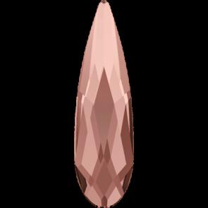 Cristale Swarovski cu spate plat No Hotfix 2304 Blush Rose F (257) 14 x 3,9 mm