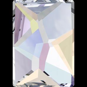 Cristale Swarovski cu spate plat No Hotfix 2520 Crystal AB F (001 AB) 8 x 6 mm