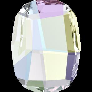 Cristale Swarovski cu spate plat No Hotfix 2585 Crystal AB F (001 AB) 10 mm