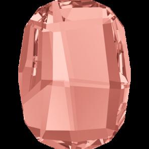 Cristale Swarovski cu spate plat No Hotfix 2585 Rose Peach F (262) 14 mm