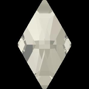 Cristale Swarovski cu spate plat No Hotfix 2709 Crystal Silver Shade F (001 SSHA) 10 x 6 mm