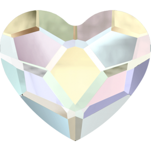 Cristale Swarovski cu spate plat No Hotfix 2808 Crystal AB F (001 AB) 10 mm