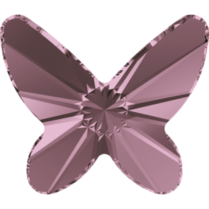 Cristale Swarovski cu spate plat No Hotfix 2854 Crystal Antique Pink F (001 ANTP) 8 mm