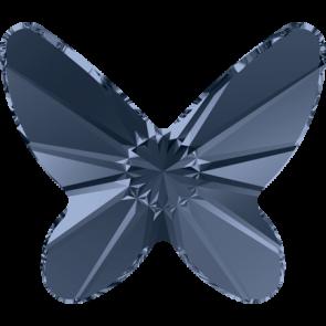 Cristale Swarovski cu spate plat No Hotfix 2854 Denim Blue F (266) 18 mm