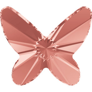 Cristale Swarovski cu spate plat No Hotfix 2854 Rose Peach F (262) 8 mm