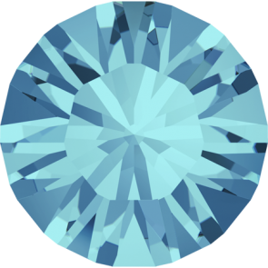 Cristale Swarovski Round Stones 1028 Aquamarine F (202) PP 8